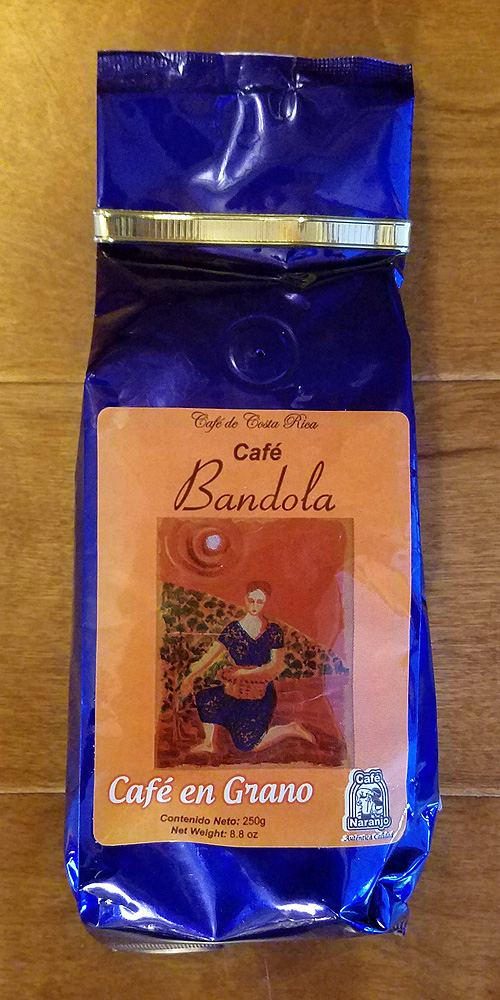 Cafe Naranjo Bandola - 250g - WHOLE BEAN
