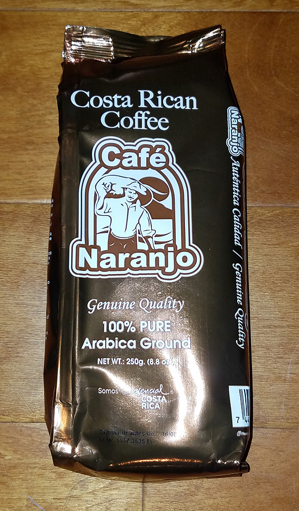 Cafe Naranjo Gold - 250g - Ground