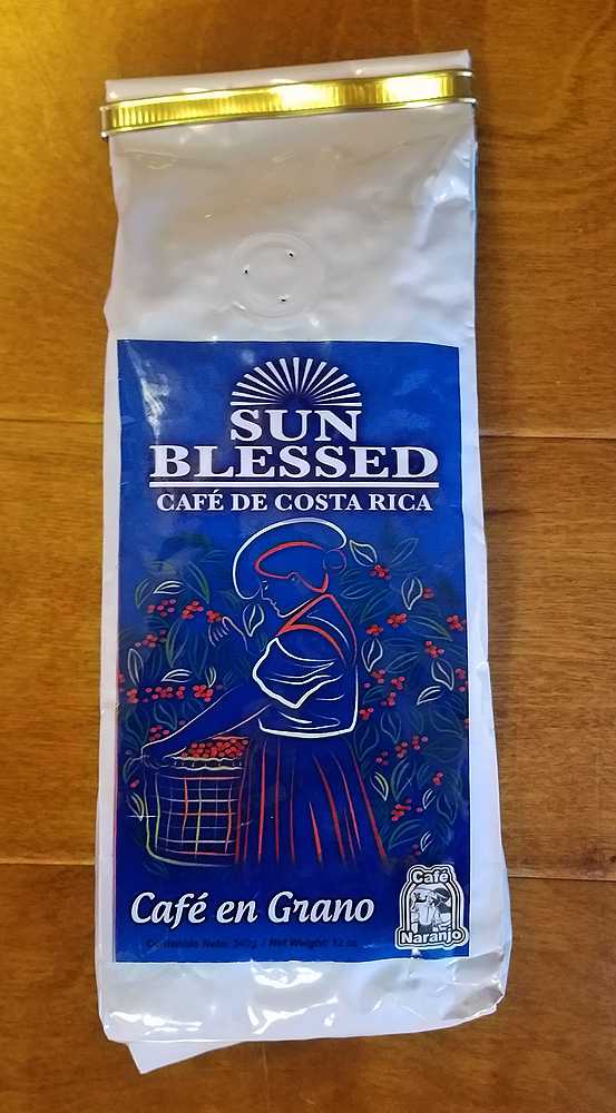 Cafe Naranjo Sun Blessed - 340g - WHOLE BEAN