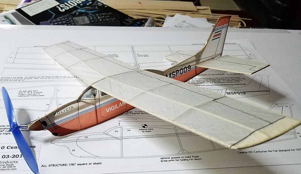 Cessna 210 Centurion Laser Cut NoCal SHORT KIT