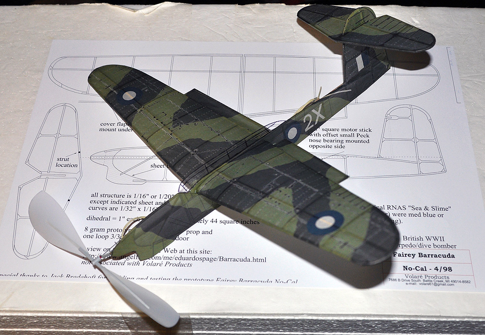 Fairey Barracuda Laser Cut NoCal SHORT KIT