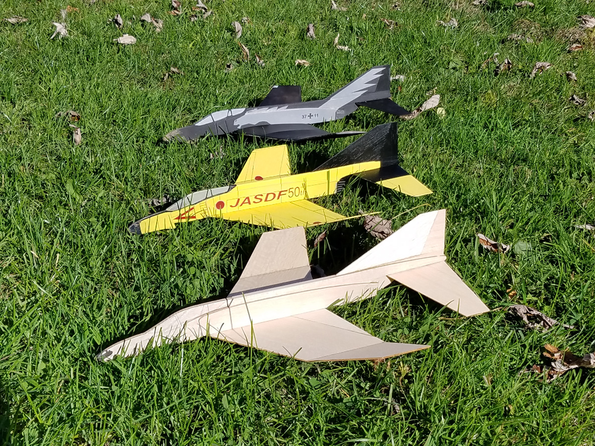 F-4 Phantom II Jet Cat Laser Cut FULL Kit