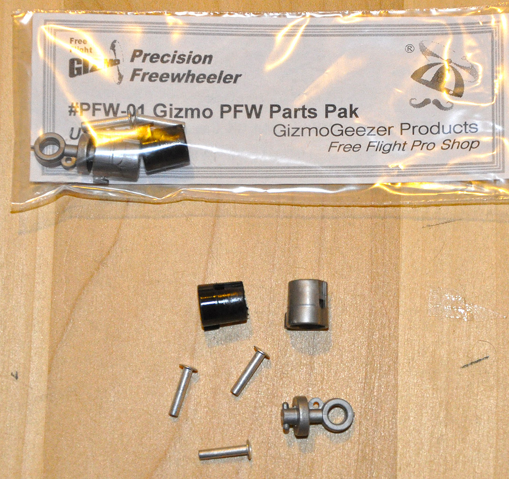 Gizmo Geezer Rubber Parts Pack