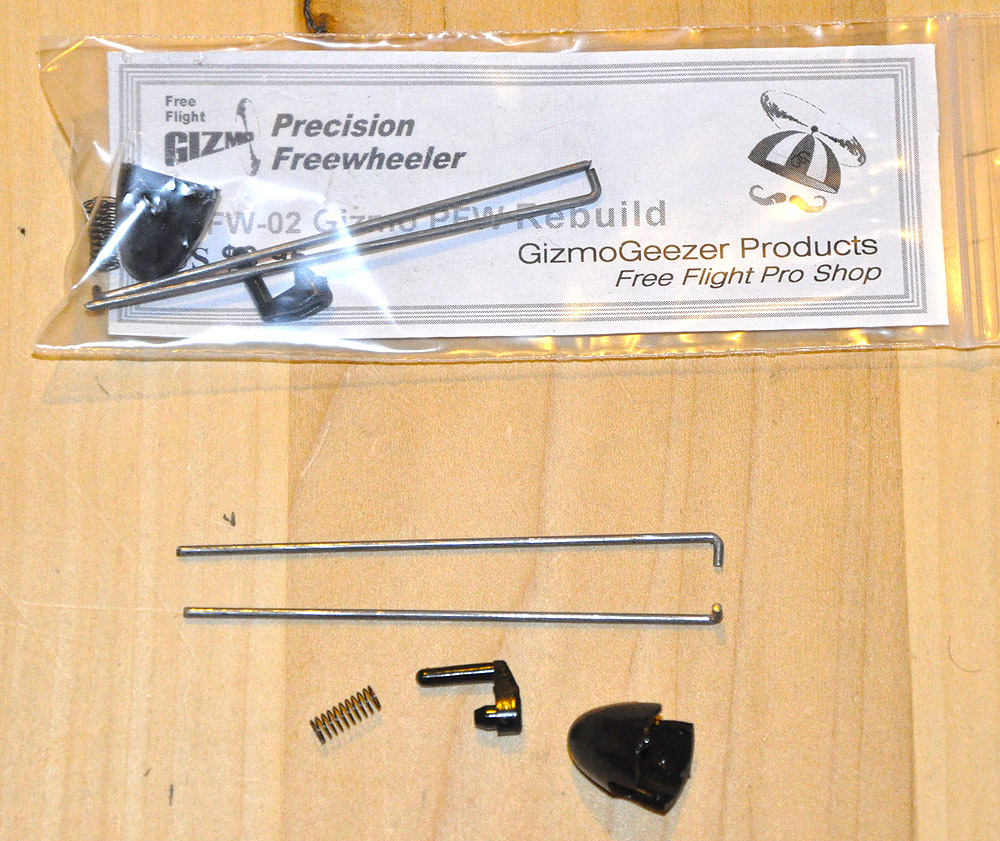 Gizmo Geezer Prop Shaft Rebuild Kit