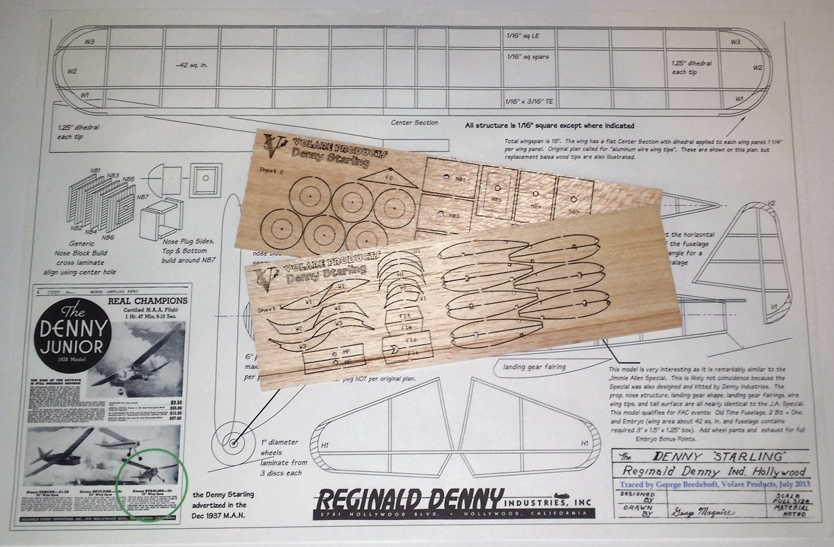 Denny Starling Short Kit