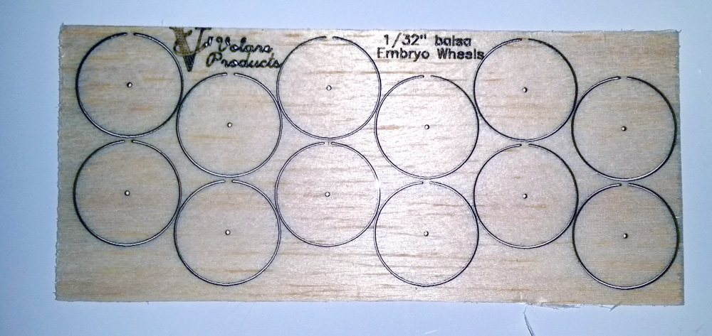 "1/32"" Balsa Embryo Wheel Kit"