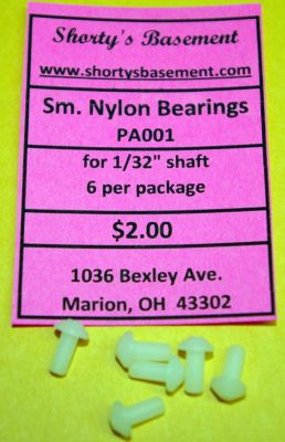 SIX Peck Small Nylon Bearings