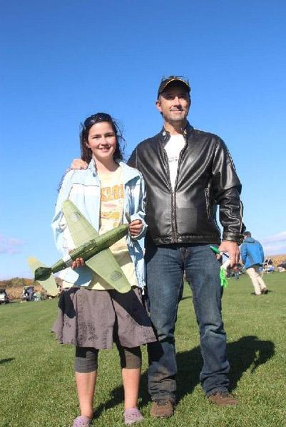 Maria Kondrat and her father, Gerard
