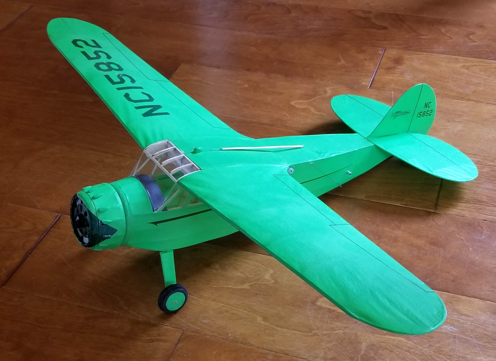 Cessna C-34 Scale Laser Cut Short Kit