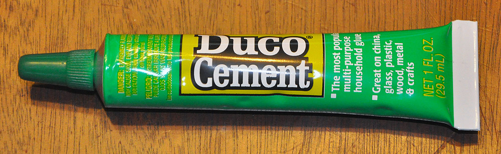 Duco Cement - 1 oz. tube