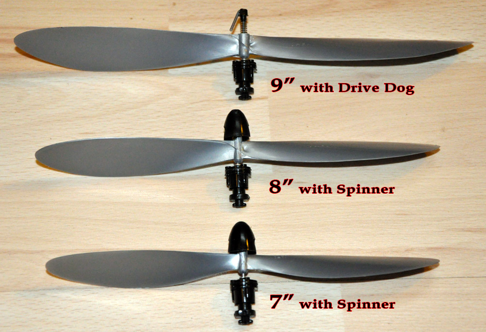 "8"" Gizmo Geezer Assembly - Spinner Drive"