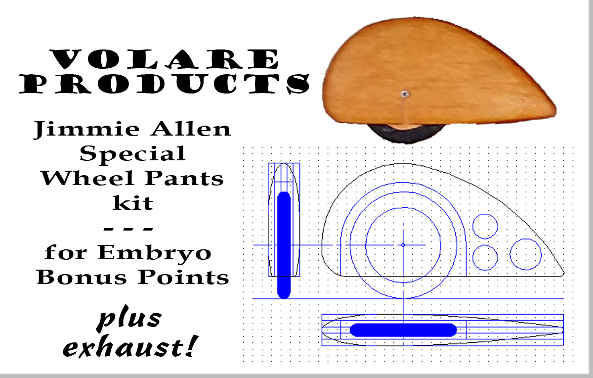 VPS Jimmie Allen Special Embryo Wheel Pants Kit