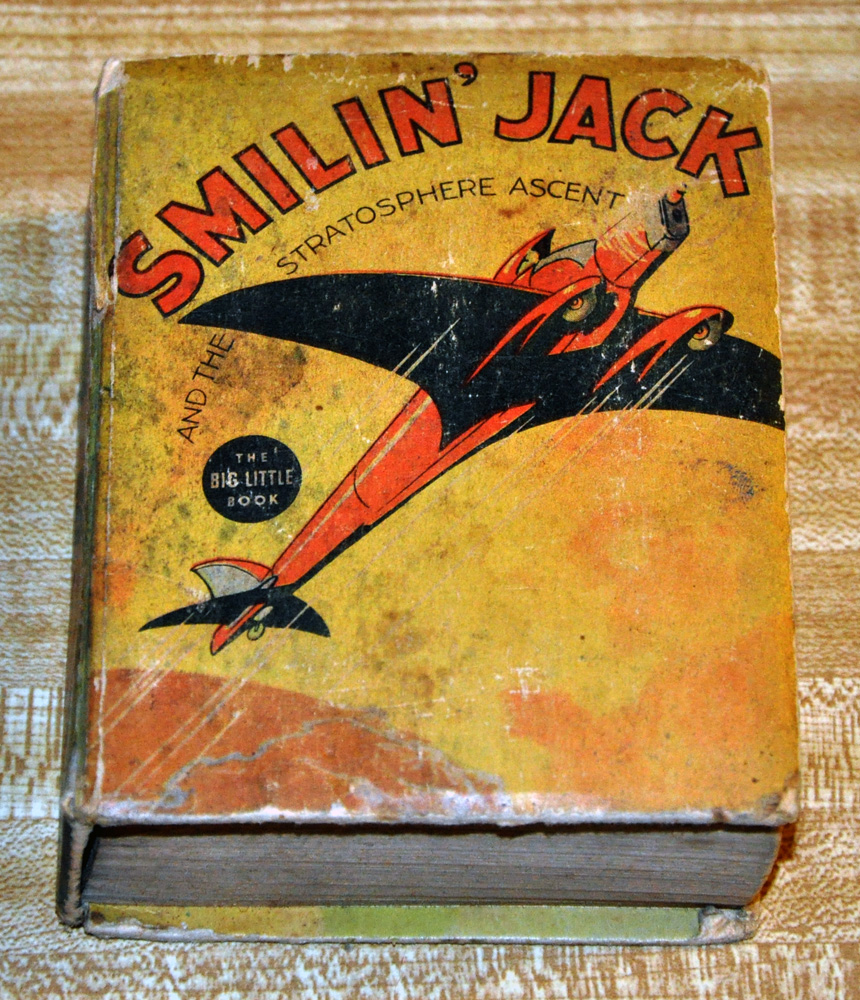 Smilin' Jack - Big Little Book - Click Image to Close
