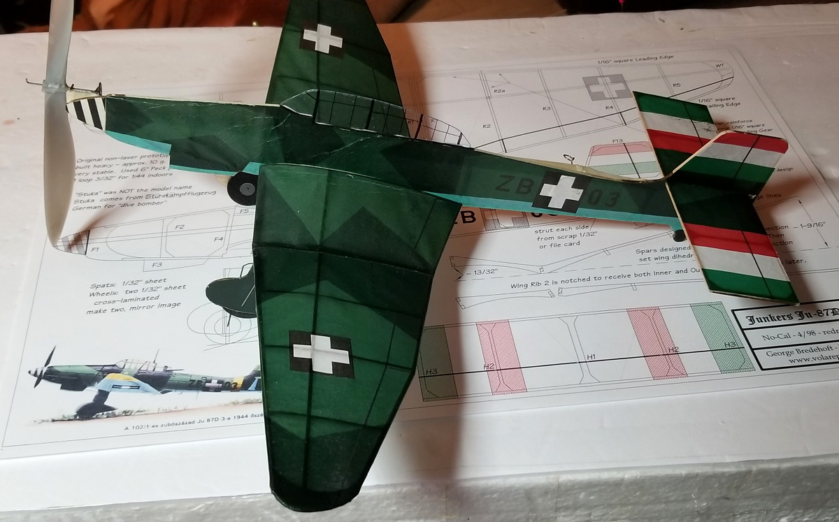 Ju-87D Stuka NoCal SHORT KIT - Click Image to Close