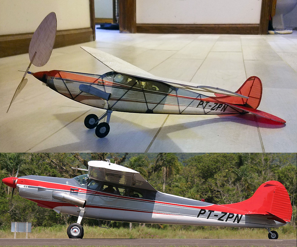 Turbo Cessna 195 Laser Cut NoCal SHORT KIT