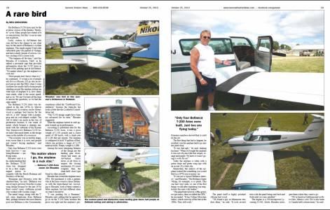 Bellanca Aries Article