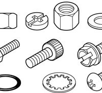 Bearings, Washers, Shafts, etc.